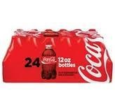 COCA-COLA 12 OZ CANS  24 PK