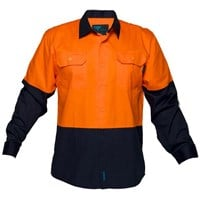 Cotton Drill Shirt lightweight with underarm cool flow mesh