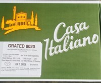 CASA ITALIANO PIZZA  CHEESE BLEND 80/20 MIX   6X1.8 kg
