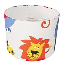 jungle roar fabric lampshade for ceiling or bedside lights