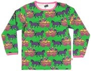 Smafolk l/s tee - Horse Carriage