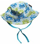 ON SALE Maxomorra Organic Sun hat - Blue Frog
