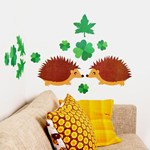 ON SALE Hedgehog wall sticker