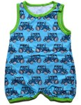 ON SALE Snoozy summer overalls - Tractor
