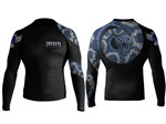 Venomous Long Sleeve Rashguard - Blue
