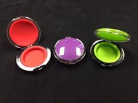 Clear Top Compact w/ Color Silicone Insert