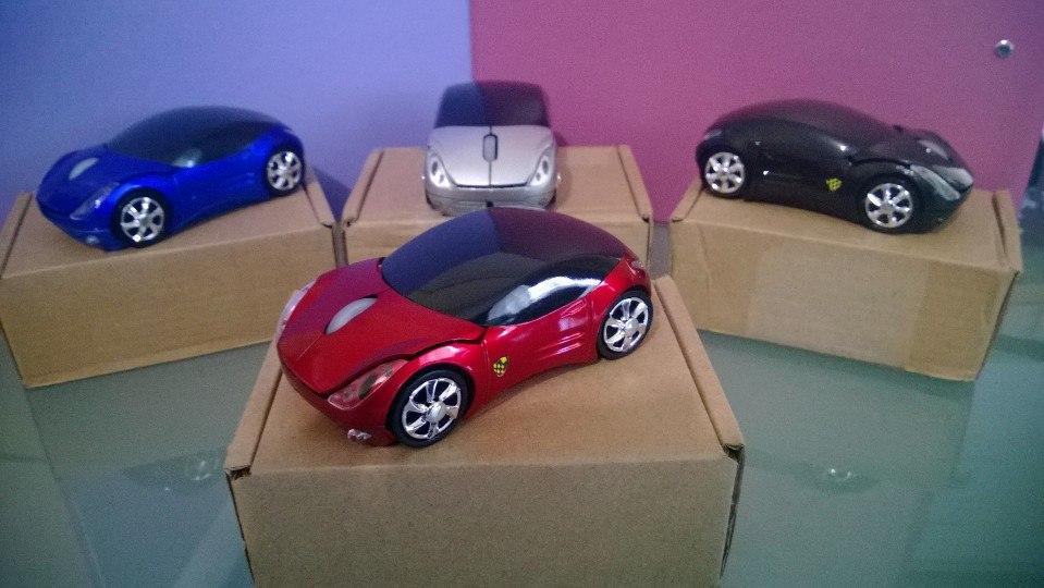 wireless car mouse aaa batteries included