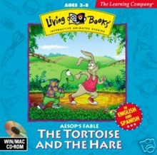 Living Book The Tortoise & The Hare Aesop's Fable (32-bit only)