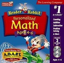 Reader Rabbit Personalised Maths ages 4 to 6