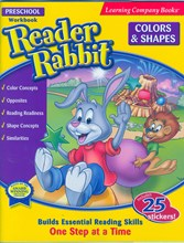 Reader Rabbit Preschool Colours & Shapes workbook