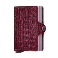 SECRID Twin-Wallet<br/>Nile Red Crocodile Card Case