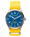 POP-PILOT® Summer Hits 42mm<br/>SEZ Edition Yellow Strap Watch