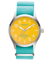 POP-PILOT® Summer Hits 42mm<br/>SXM Edition Teal Strap Watch
