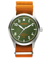 POP-PILOT® Jungle Beats<br/>DUR Amber Orange Strap Watch