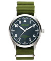POP-PILOT® Jungle Beats<br/>CPT Khaki Green Strap Watch