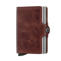 SECRID Twin-Wallet<br/>Vintage Brown Leather Card Case