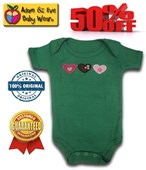 Three Hearts Adam & Eve Baby Wear Tag Free Romper - Baby Boys & Girls Clothes