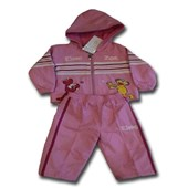 Zoe Playful 2 Pieces Tracksuit Set - Baby Girls Clothes