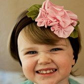 Pretty In Pink Head Band - Baby Girls Clothes