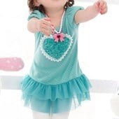 Ringa Ringa Rosey Girl Tutu Dress (Blue) - Baby Girls Clothes