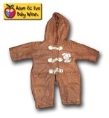 Rugged Up Brown Jump suit/Coversuit/Coveralls - Unisex Clothes