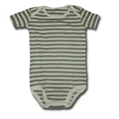 Olive in Stripes Adam & Eve Baby Wear Tag Free Romper - Baby Boys & Girls Clothes