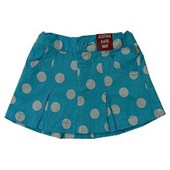 Baby Blue Polka Dots Skirt - Baby Girls Clothes
