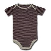 Stripes Stripes Stripes Adam & Eve Baby Wear Tag Free Romper - Baby Boys & Baby Girls Clothes