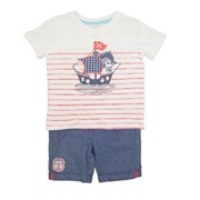 Jake and his Sailing Ship 2 Piece set - Baby Boys Clothes