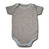 Brown Lines Adam & Eve Baby Wear Tag Free Romper - Unisex Clothes