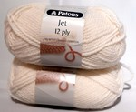 Patons Jet 12 Ply - White