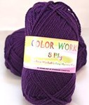 Heirloom Color Works Purple 469 8 Ply