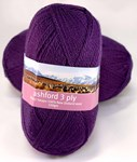 Ashford 3 Ply Tekapo Grape