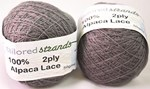Tailored Strands 2 ply Alpaca Lace Mid Grey 081