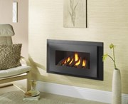Crystal Miami Glass Fronted Gas Fire