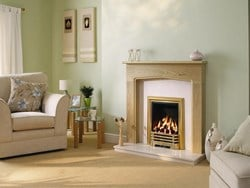 Be Modern Tudor Wooden Fireplace