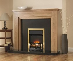 PureGlow Whitton Fireplace with Electric Fire