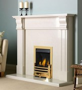 PureGlow Knighton Perla Fireplace Package