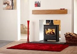 OER Double Vision Multi-Fuel Stove
