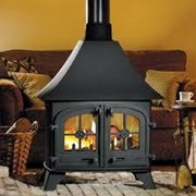 Yeoman Devon - Double Sided, Single depth woodburning stove