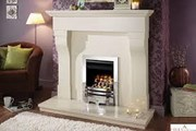 Crystal Montana H.E Glass Fronted Gas Fire