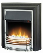Dimplex Detroit freestanding fire with unique Optiflame® effect