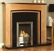 GB Mantels Upton Oak Surround