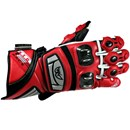 (CLEARANCE SALE) - Berik KTG Leather Race Gloves Red