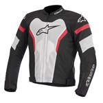 (CLEARANCE SALE) - Alpinestars T-GP Pro Air Textile Jacket - White/Red