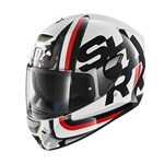 (CLEARANCE) - Shark SKWAL CARGO ECE Helmet - White/Black/Red