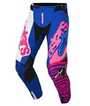 (CLEARANCE) Alpinestars 2018 Youth Racer Venom Pants - Blue/Pink Fluo/White
