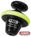 (CLEARANCE SALE) - ABUS GRANIT VICTORY DISC LOCK - YELLOW