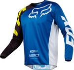 FOX 2018 180 RACE YOUTH JERSEY - BLUE
