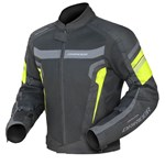 (CLEARANCE SALE) - Dririder Air Ride 3 Jacket -Hornet Hi Visibility